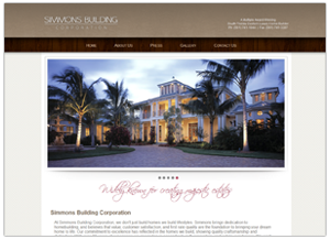 Simmons Building Home Page